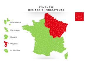 Etat de la propagation du COVID-19 en France